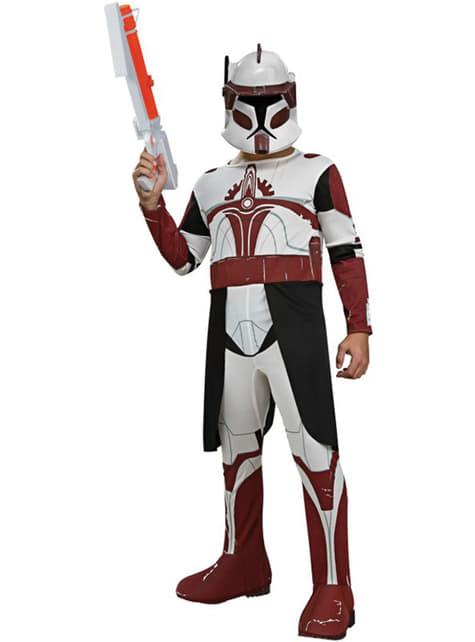 Kommandant Fox Clone Trooper Kostüm für Kinder