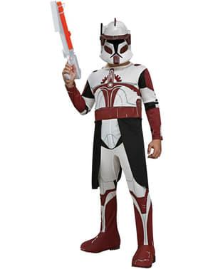 Fato de Comandante Fox Clone Trooper para menino