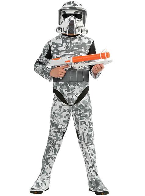 Star Wars Arf Trooper costume for a boy