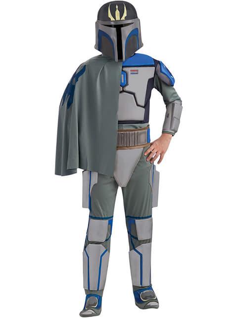 Disfraz de Pre Vizsla Star Wars deluxe para niño