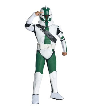 Commander Gree Clone Trooper costume for a boy