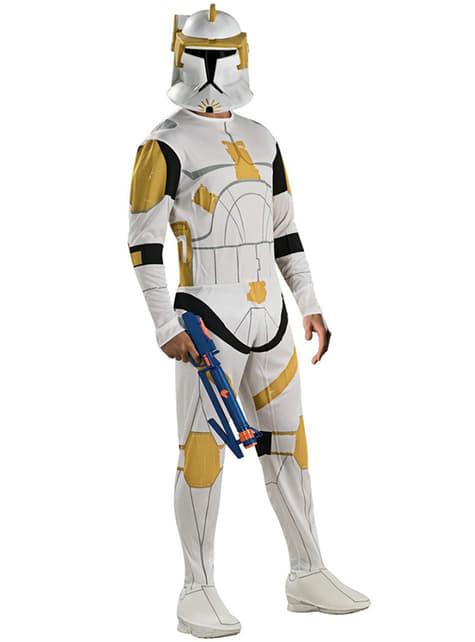 Disfraz de Comandante Cody Clone Trooper adulto