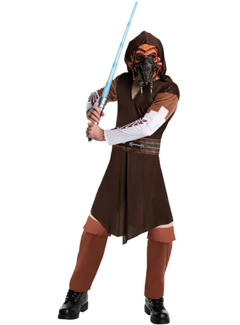 Star Wars Plo Koon costume for an adult