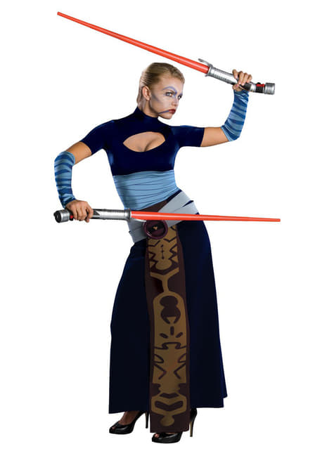 Disfraz de Asajj Ventress Star Wars
