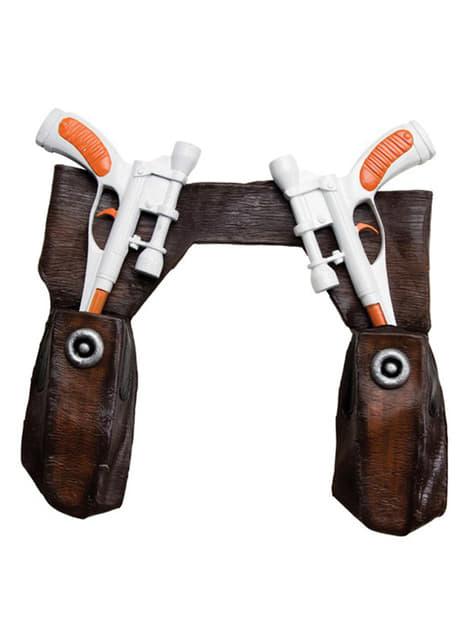 Pistolen set met riem Cad Bane Star voor jongen