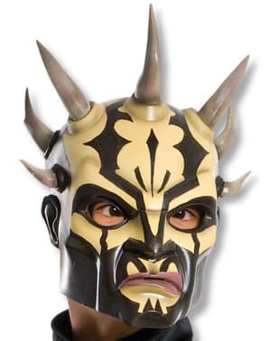 Máscara Savage Opress Guerra das Estrelas adulto