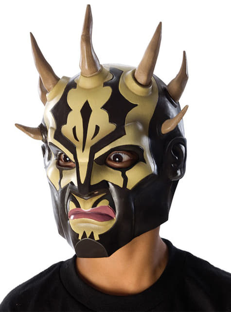 Star Wars Savage Opress Mask For A Boy The Coolest Funidelia