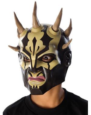 Máscara Savage Opress Guerra das Estrelas para menino