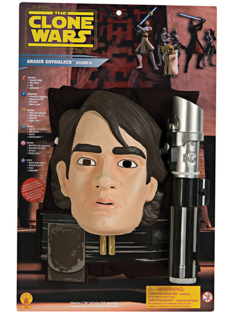 Anakyn Skywalker The Clone Wars asusteet pojille