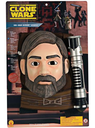 Set van Obi-Wan kenobi The Clone Wars voor jongens