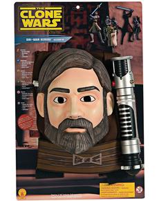 Kit Obi-Wan kenobi The Clone Wars para niño