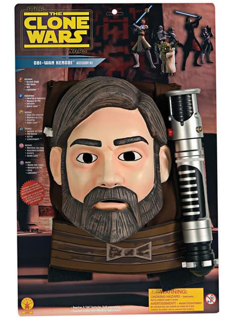 Conjunto Obi-Wan kenobi The Clone Wars para menino