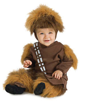 Chewbacca kostyme for barn