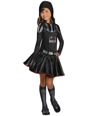 Darth Vader costume for a girl