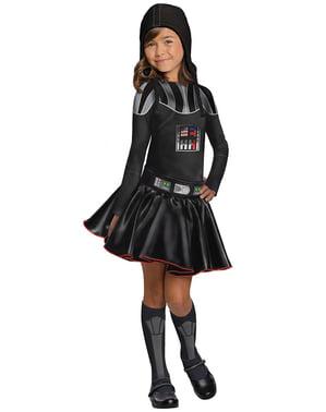 Kvinnlig Darth Vader Maskeraddräkt Barn