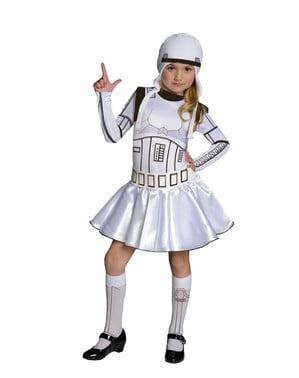 תחפושת stormtrooper עבור ילדה