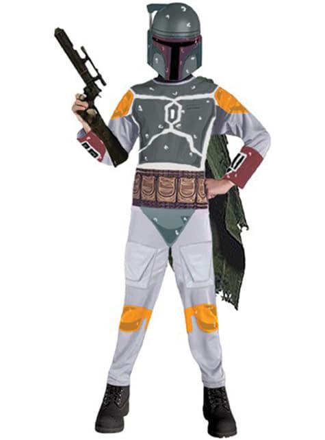 Star Wars Boba Fett costume for a boy
