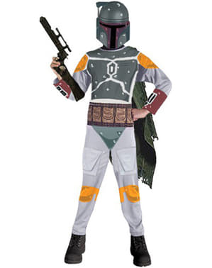 Star Wars Boba Fett costume for a boy