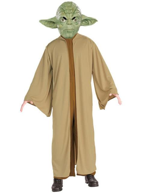 Disfraz de Yoda para niño