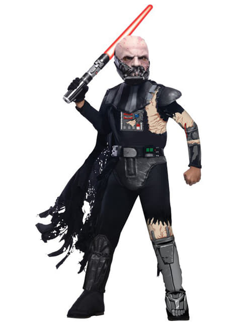 Kostium Darth Vader ranny w walce deluxe dla dzieci