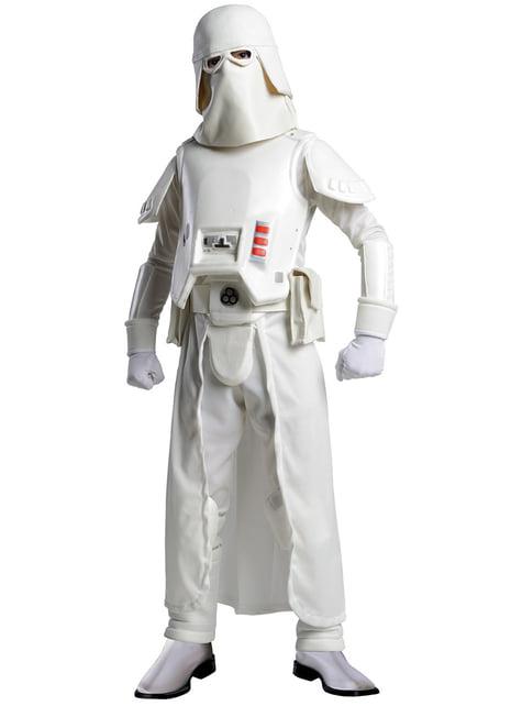 Déguisement de snow Trooper Star Wars pour enfant
