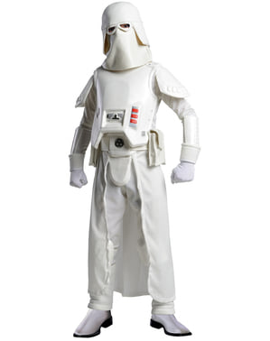 Costum Snow trooper Star Wars pentru băiat