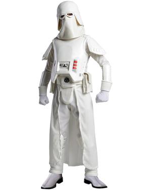 Fato de Snow trooper Guerra das Estrelas para menino