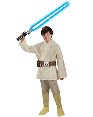 Deluxe Luke Skywalker costume for a boy