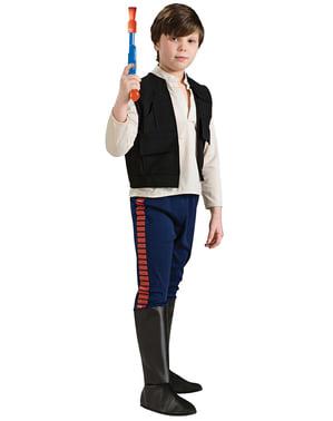 Costum Han Solo deluxe pentru fată