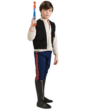 Deluxe Han Solo costume for a boy