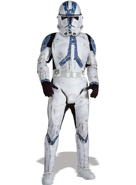 Deluxe Clone Trooper Legion 501 costume for a boy