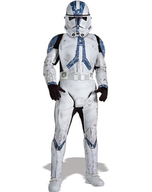 Deluxe Clone Trooper Legion 501 costume for a boy