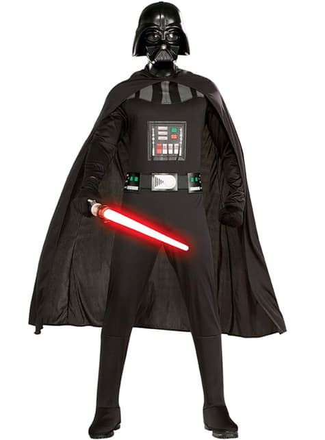 Darth Vader large size costume for an adult