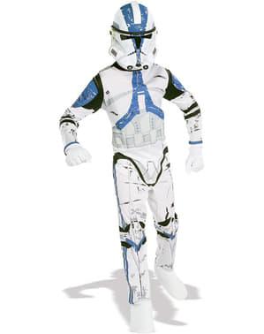 Fato de Clone Trooper Legião 501 Star Wars para adulto