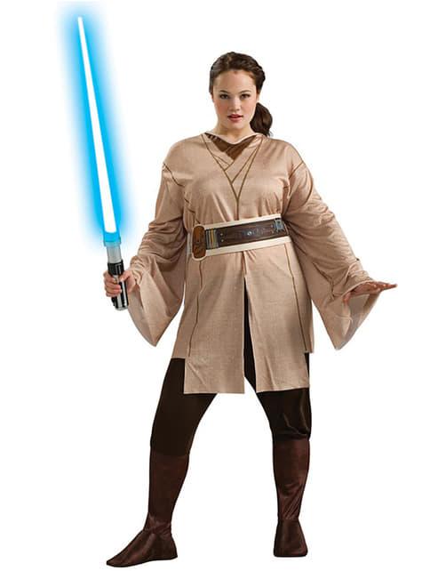 Disfraz de Jedi Star Wars para mujer talla grande