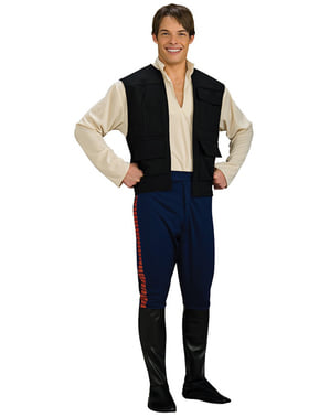 Deluxe Han Solo costume for an adult