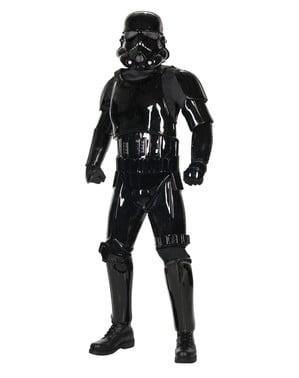 Чорний тінь Stormtrooper Верховний костюм