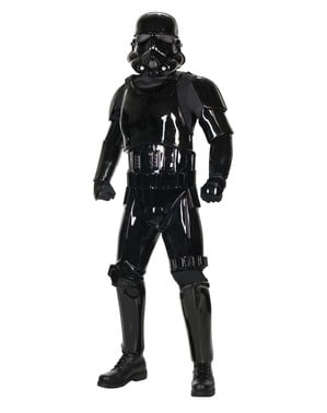Върховен костюм на черната сянка Stormtrooper