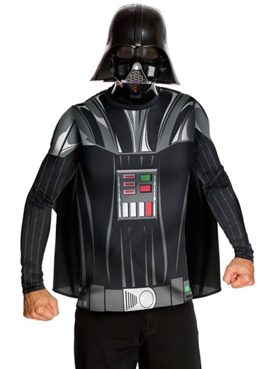 kit costume dark vader pour adulte les plus amusants funidelia. Black Bedroom Furniture Sets. Home Design Ideas