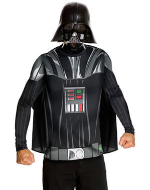 Kit disfraz Darth Vader para adulto