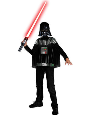 Kit disfraz Darth Vader para niño