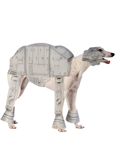 Star Wars AT AT Imperial Walker costume for a dog