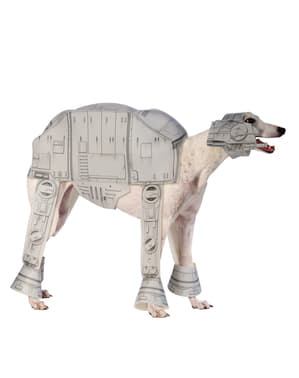 Star Wars Rymdimperiets AT-AT Walker Maskeraddräkt Hund