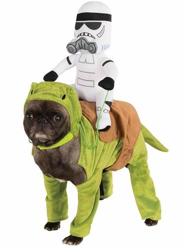 Star Wars Dewback kostume til hunde