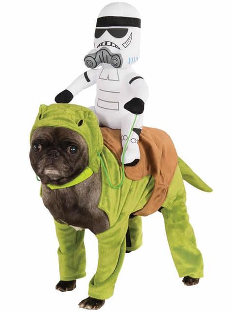 Fato de Dewback Guerra das Estrelas para cão