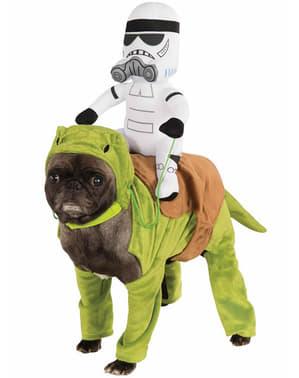 תחפושת מלחמת הכוכבים Dewback עבור כלב