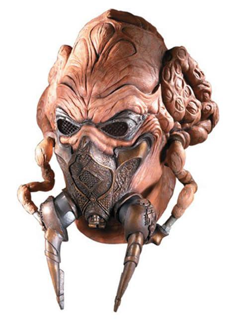 Máscara em látex Plo Koon Guerra das Estrelas para adulto
