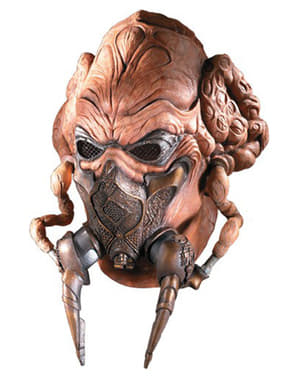 Star Wars Plo Koon latex mask for an adult