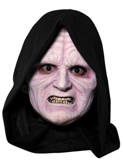 Palpatine 3/4 vinyl maske til voksne