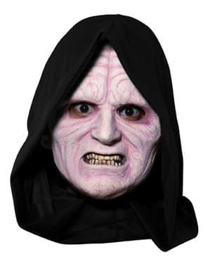 Maschera Imperatore Palpatine ¾ in vinile da adulto
